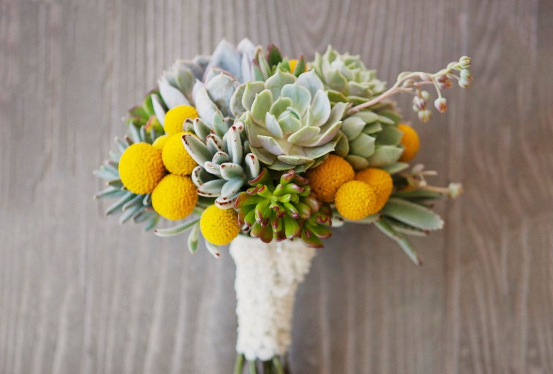 Unique wedding flower bouquet with succulents of any style or shade to look fancy you must know