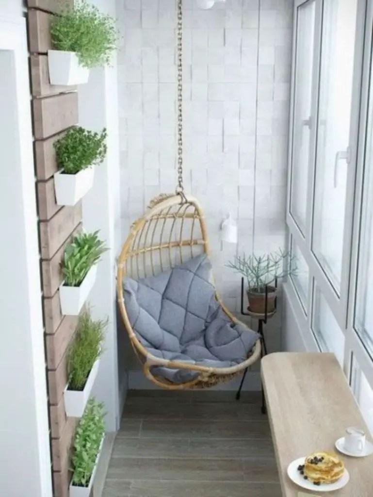 Vertical garden for small balcony