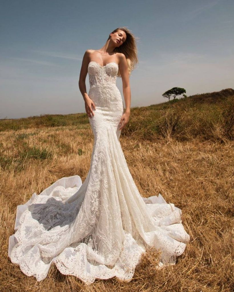 An elegant mermaid dress for wedding dresses eternal bridal