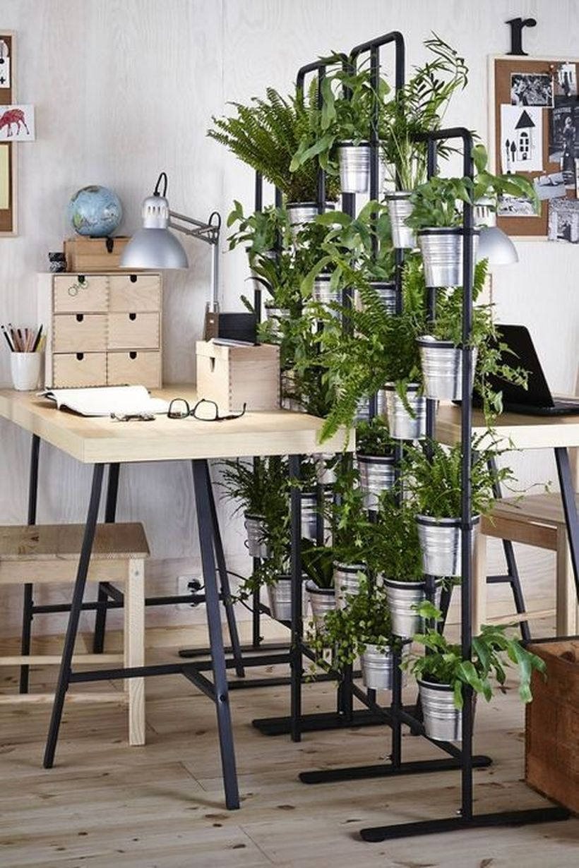 Greenery room divider