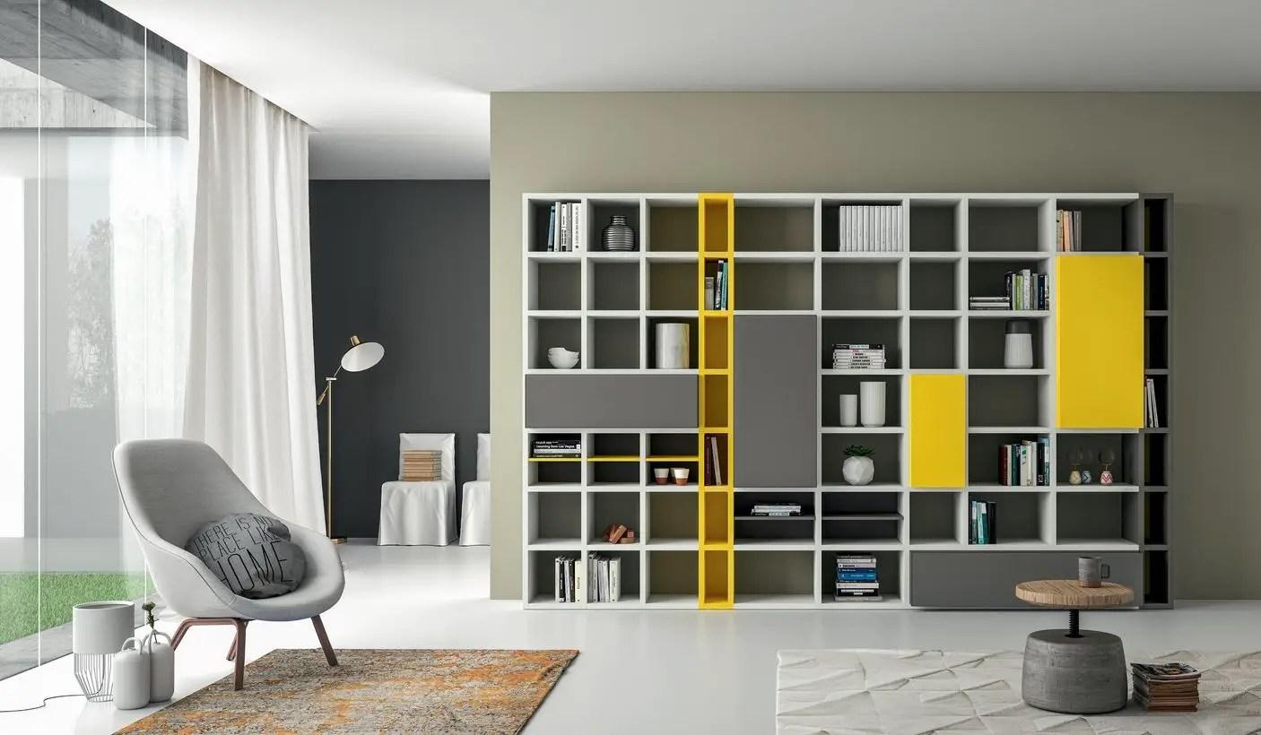 Large square bookshelves ideas