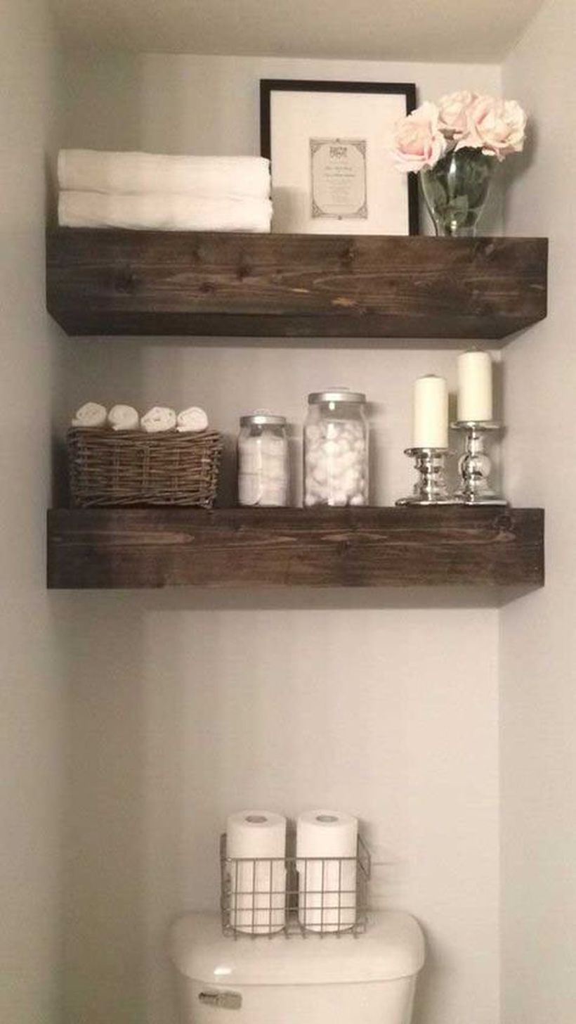 Simple wooden thick hanging rack