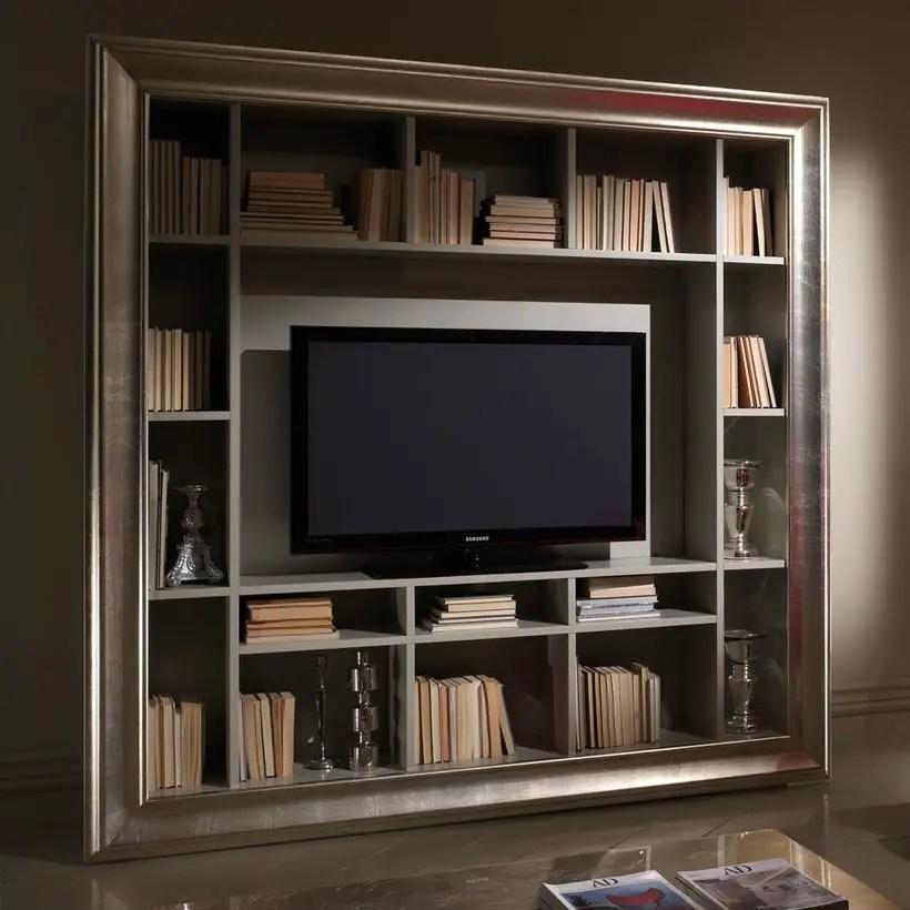 Square wooden bookshelves ideas