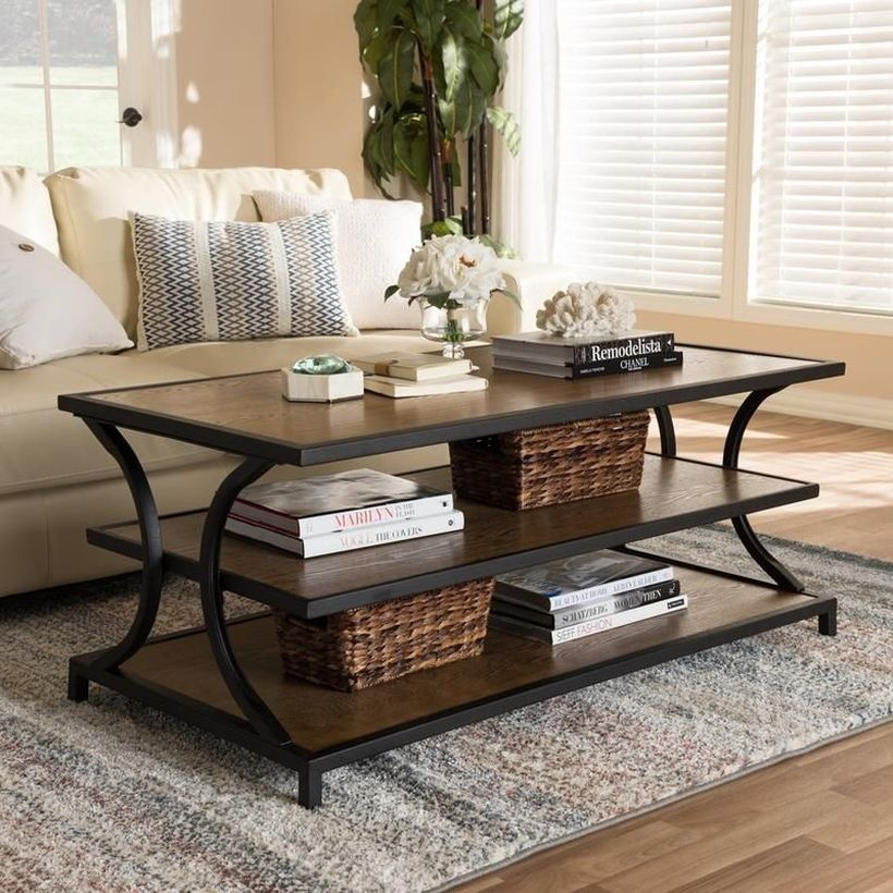 Tiered coffee table