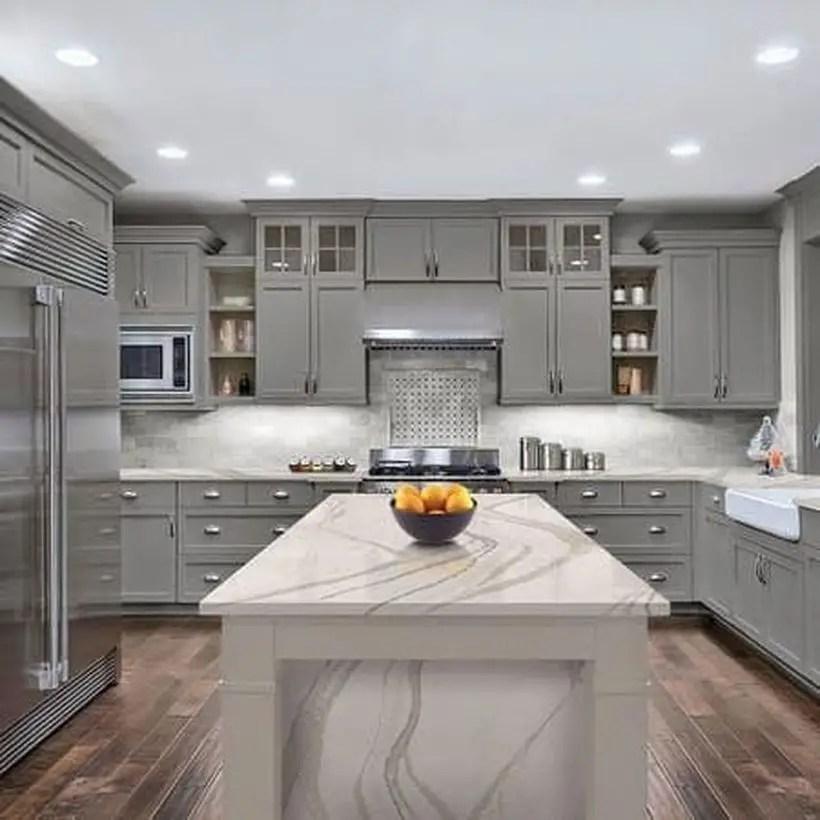 White pattern countertop design ideas