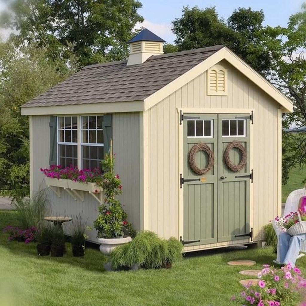 Country shed design for garden