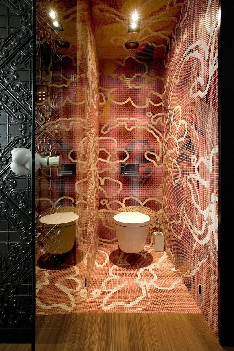 Faboush artistic tile mosaic marcel wanders for bathroom decoration