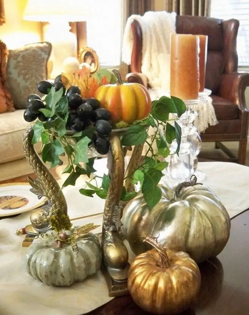 Fall-coffee-table-décor