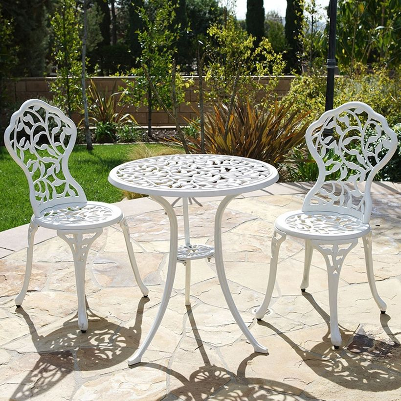 Furniture-vintage-decor-with-white-iron-table-and-chair-set-for-your-backyard