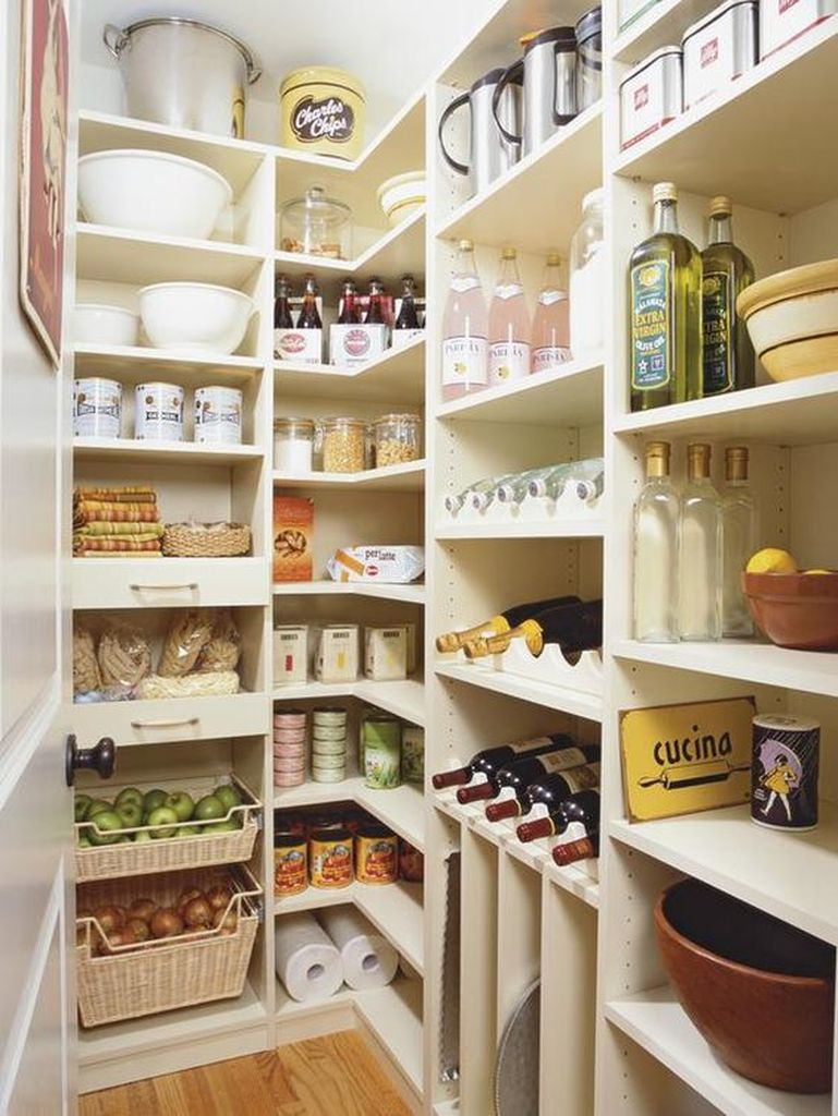 30 Well Organized Kitchen Pantry Ideas