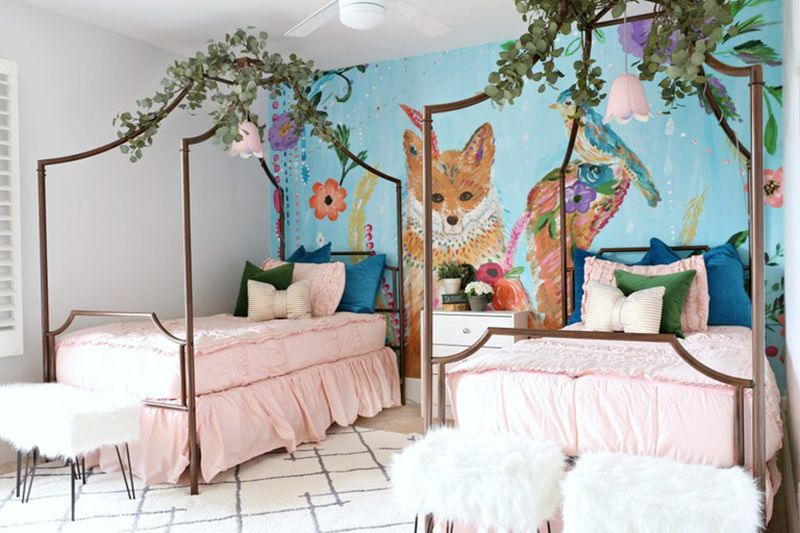 30 Awesome Mural Design Ideas for Your Kids Room
