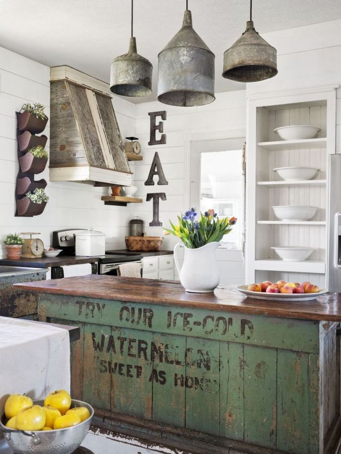 Farmhouse-kitchen-countertop
