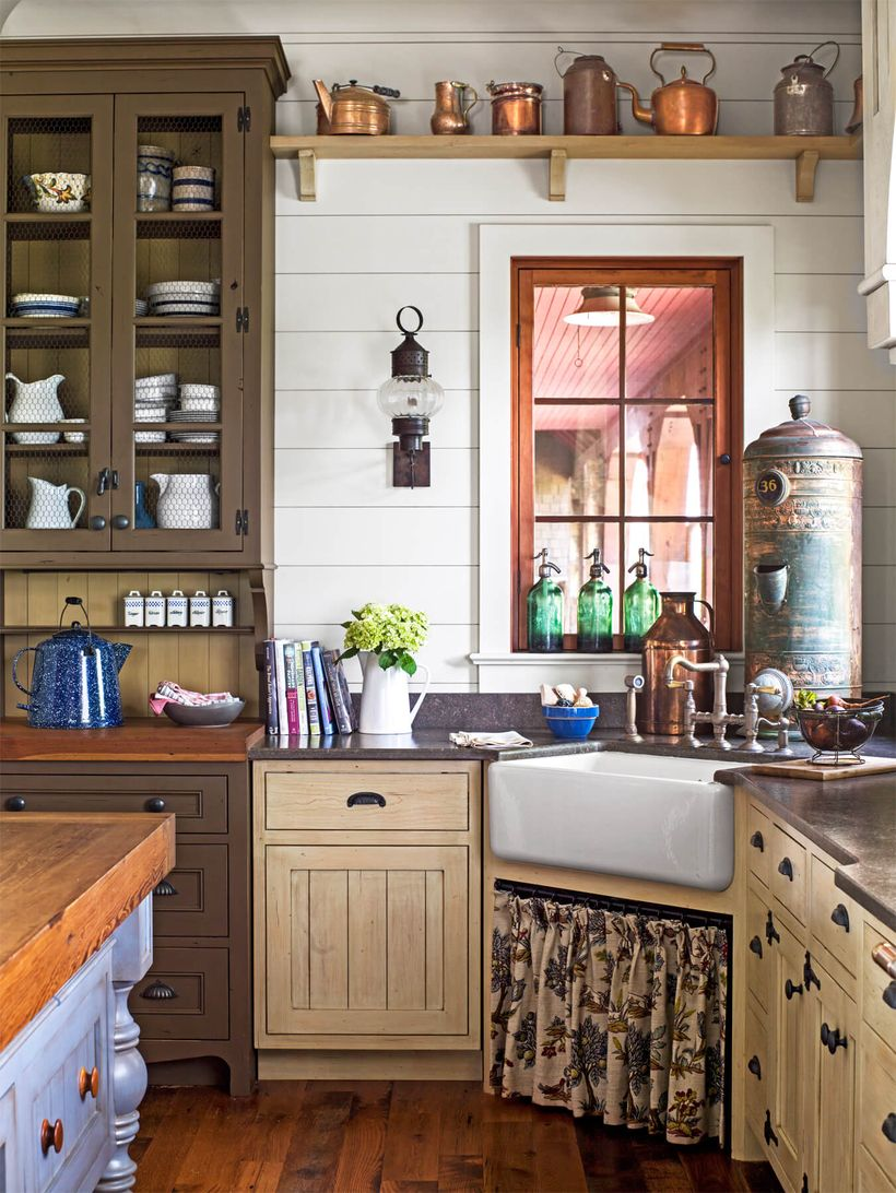 Inspired-kitchen-cabinet-for-your-decoration-vintage-kitchen-and-classic-sink-at-the-corner-you-must-try