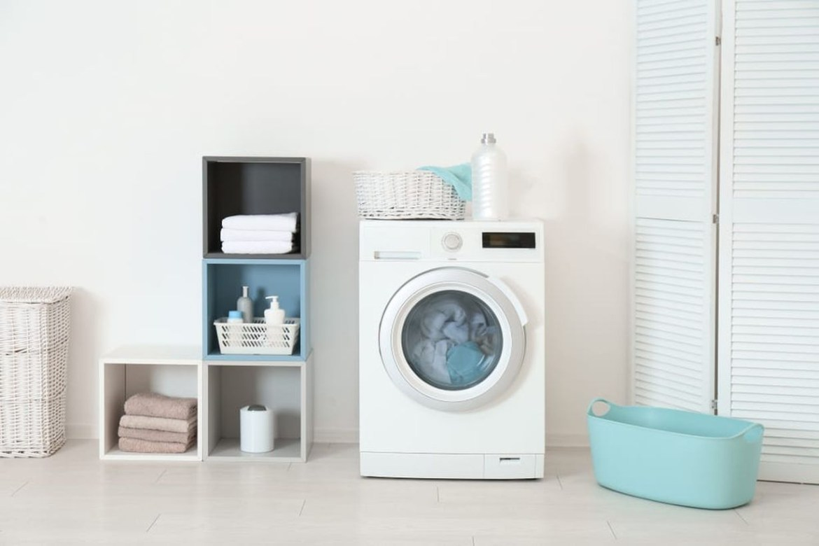 Minimalist laundry room ideas