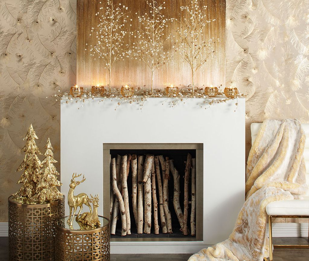 30 Magnificent Fire Place Decors During Winter