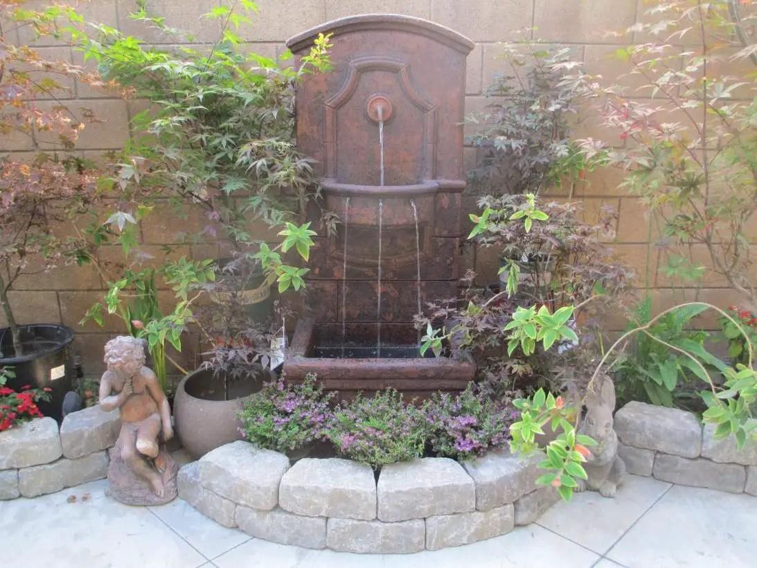 Diy-wall-fountain
