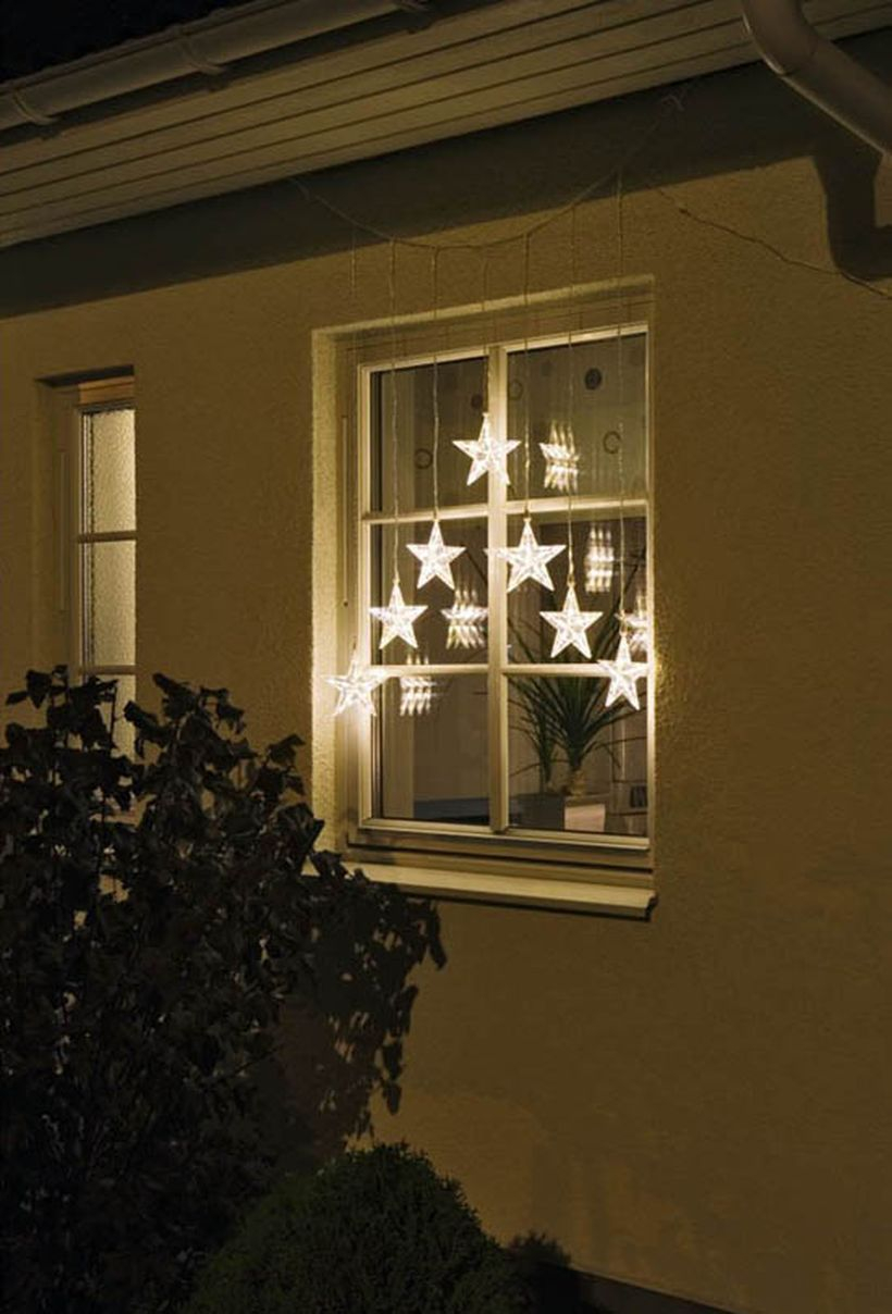 Small stars light decoration