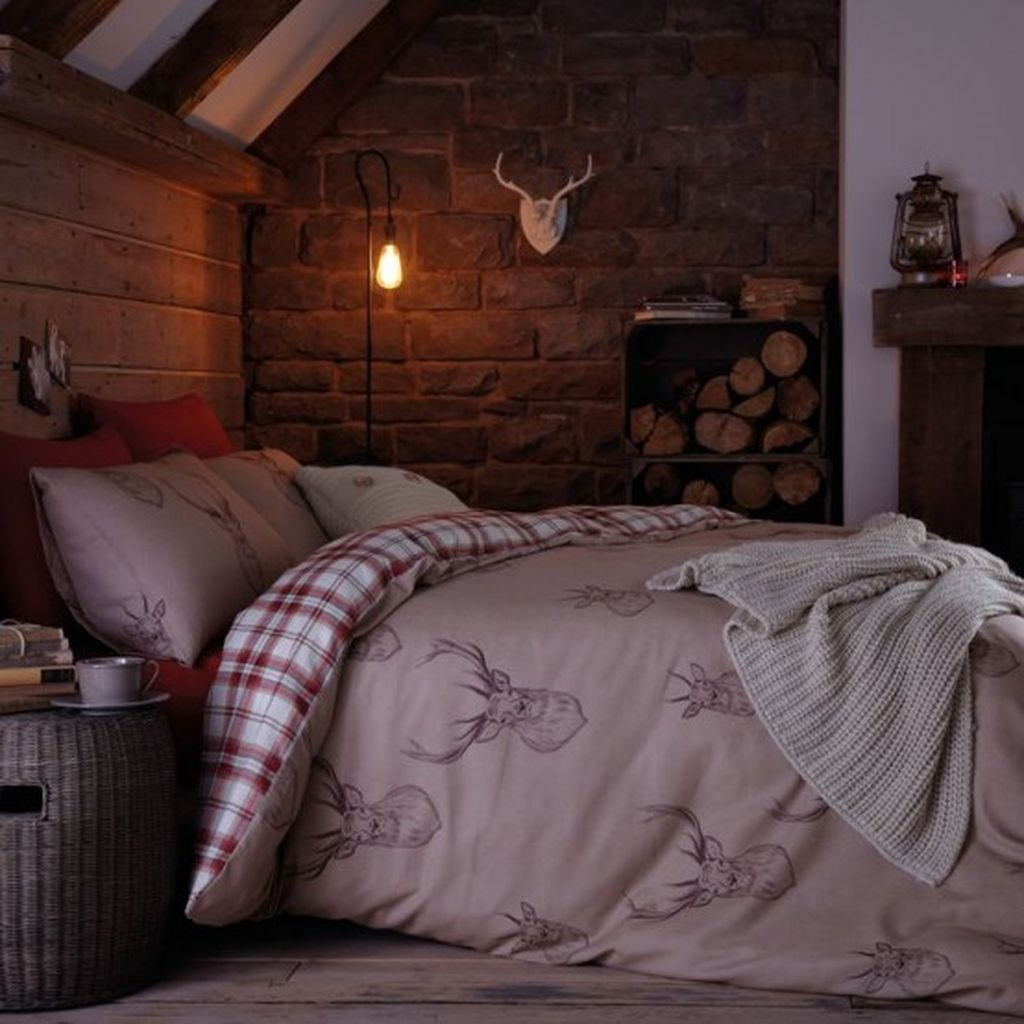 Stone walls for bedroom decoration