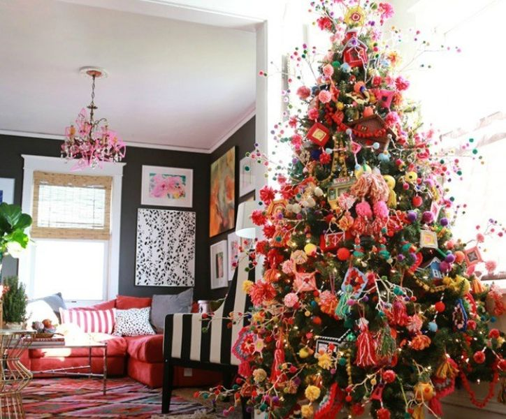 21 Gorgeous Bohemian Christmas Decoration Ideas