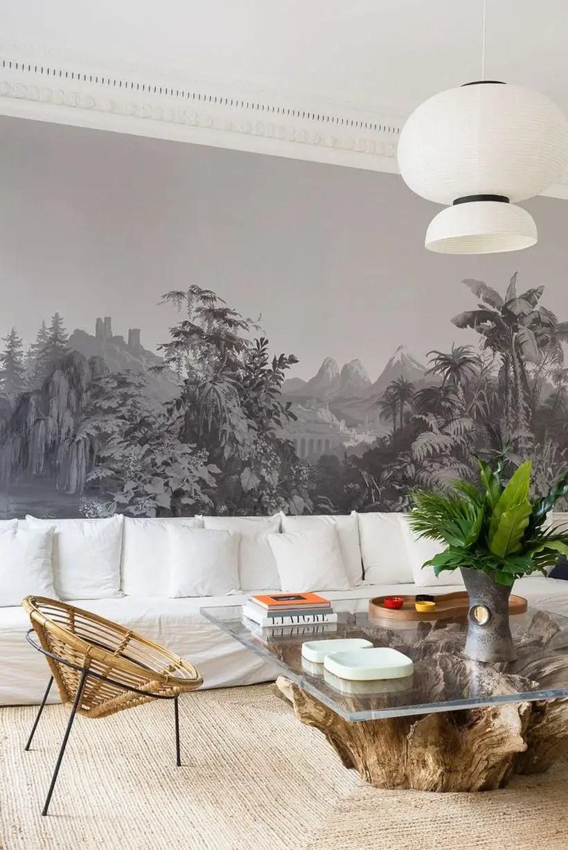 White cushion in the white sofa