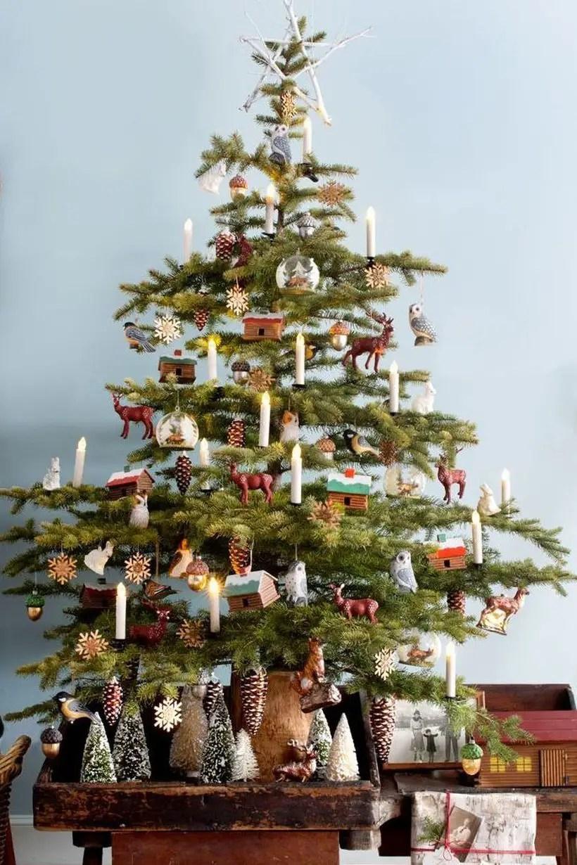 1sdfschristmas-tree-decoration-ideas-woodland-tree-1569006032
