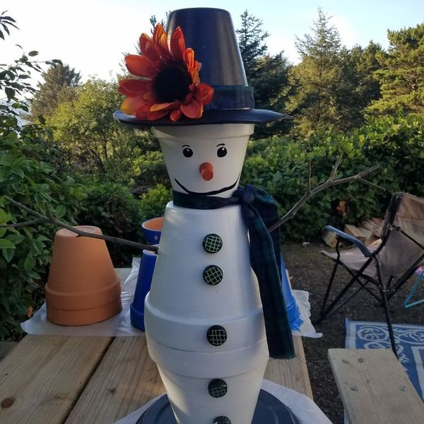 25 Cutest Outdoor Snowmen Decoration for This Winter