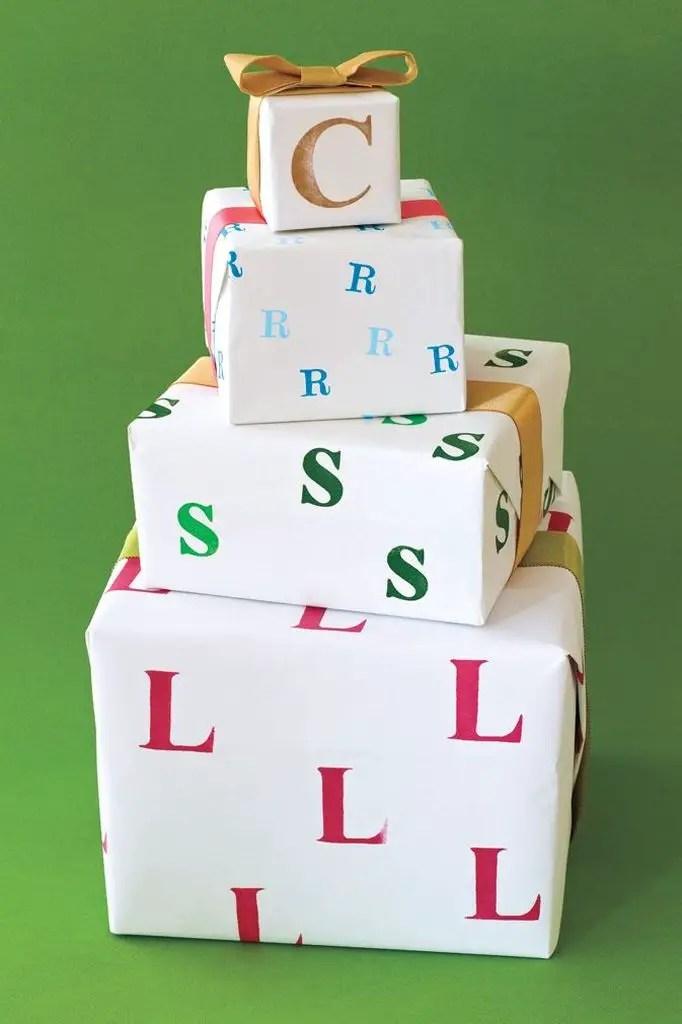 Monogram-gift-wrap