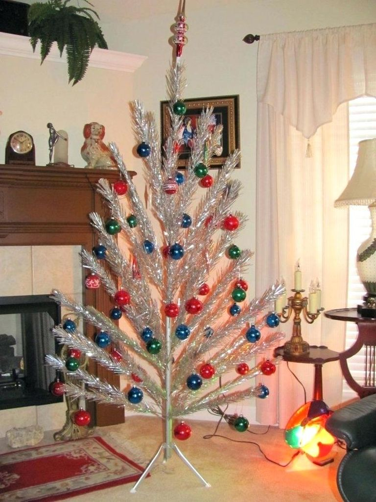 Vintage-tinsel-christmas-tree-medium-size-of-silver-with-color-wheel-aluminum-all-history
