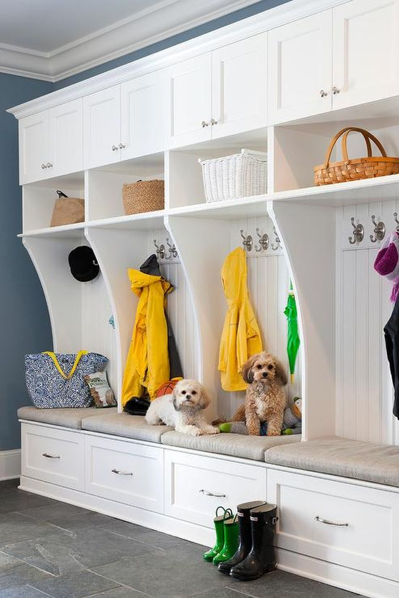 White-mudroom-lockers-beadboard-trim
