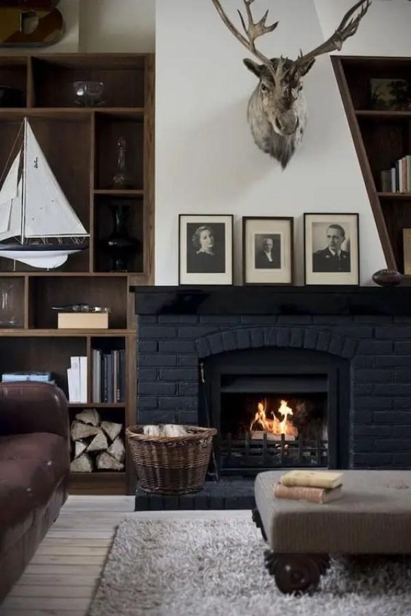2-black-brick-wall-fireplace-ideas-5