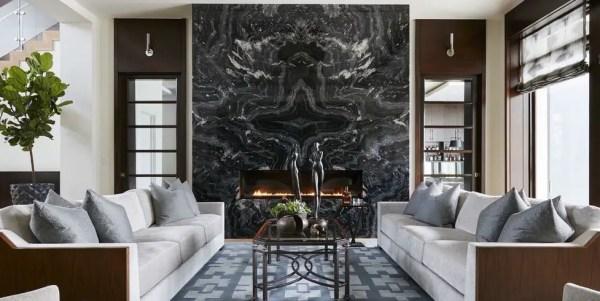 Black-marble-fireplace-decor-ideas
