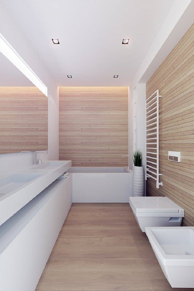 Blond wood Charismatic Bathroom Design Ideas To Hypnotize Everyone In Your Home