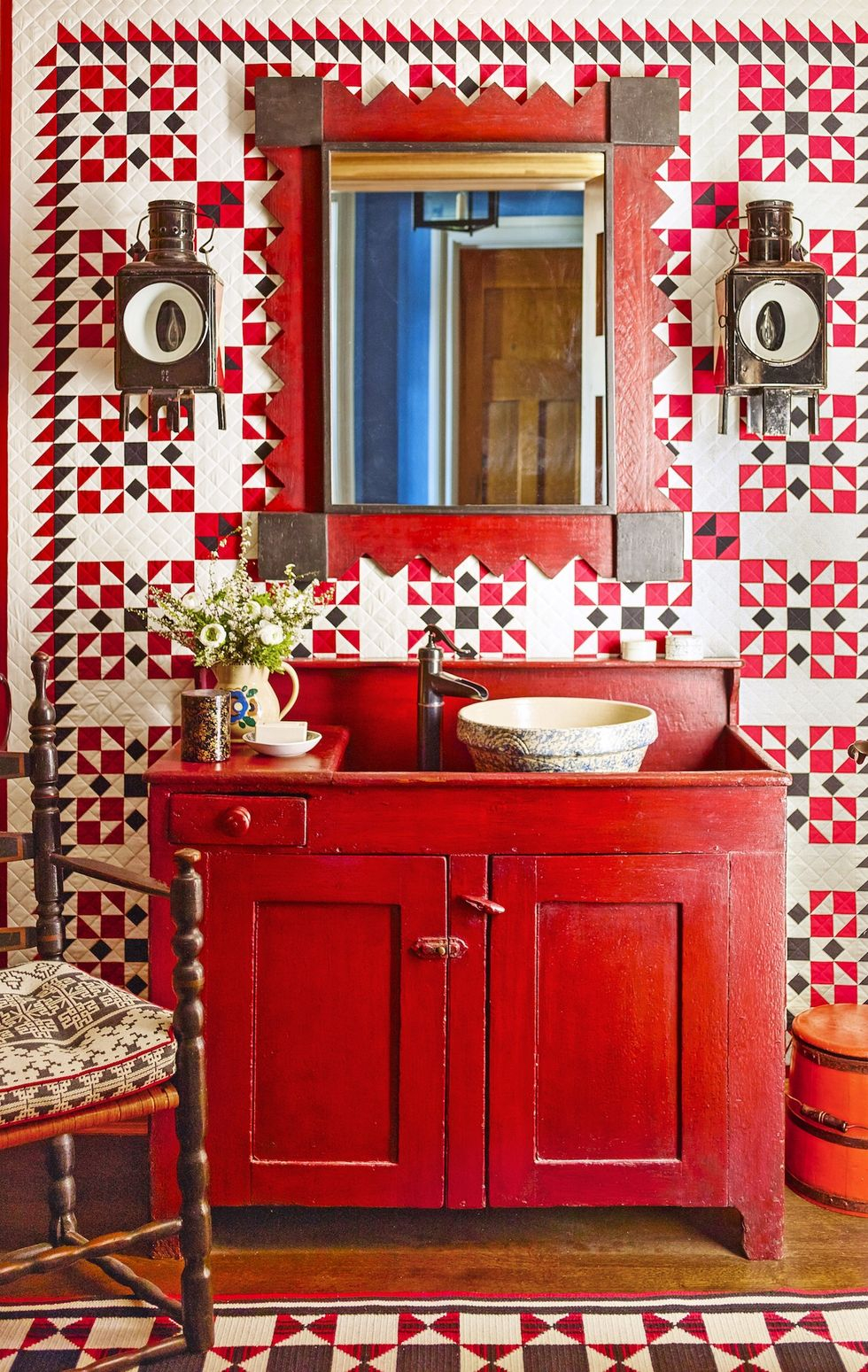 Cozy country small bathroom Vitalizing Half Bathroom Ideas That Refreshing Your Half Space In A Right Way