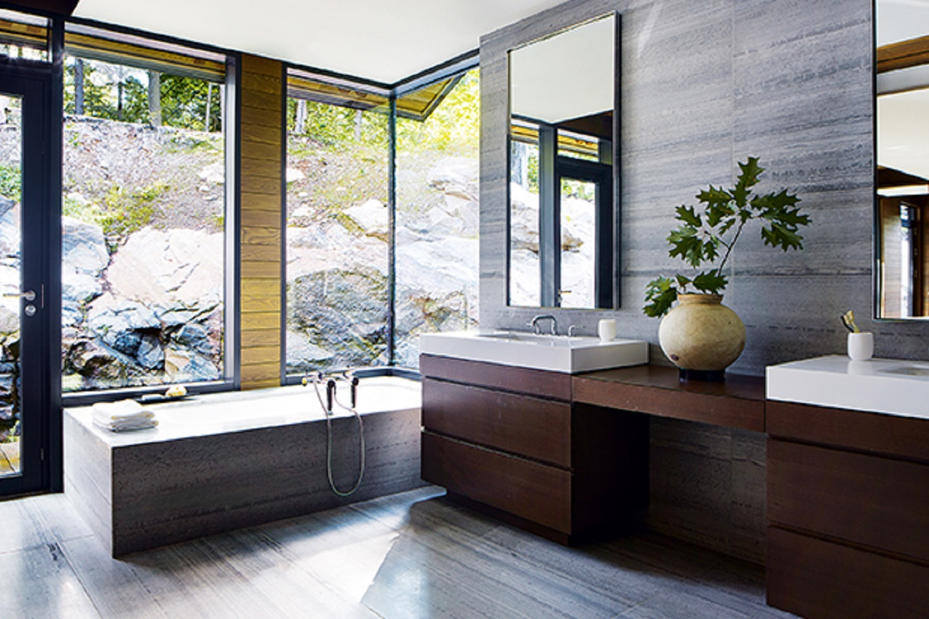 Natural bathroom Energizing Bathroom Style Ideas To Make You Want to Have An Earlier Shower