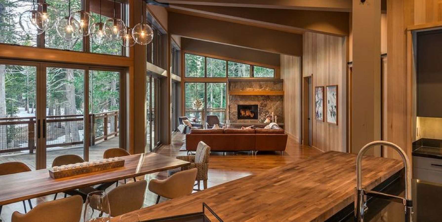Nature-inspired A New Way To Enjoy The Wood Kitchens That Is Definitely Charming