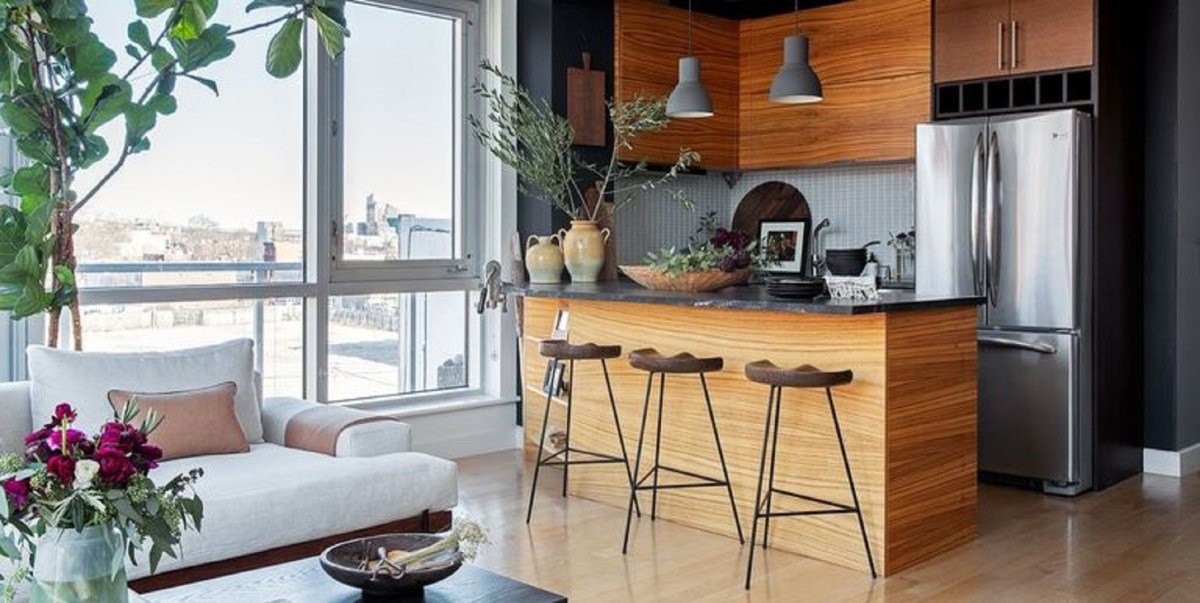 Open concept wood kitchen idea A New Way To Enjoy The Wood Kitchens That Is Definitely Charming