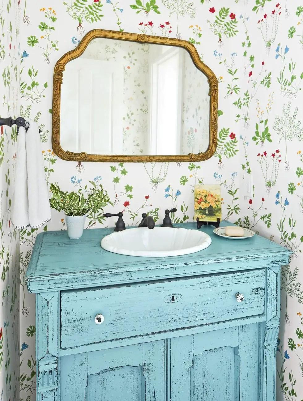 Pretty powder room Vitalizing Half Bathroom Ideas That Refreshing Your Half Space In A Right Way