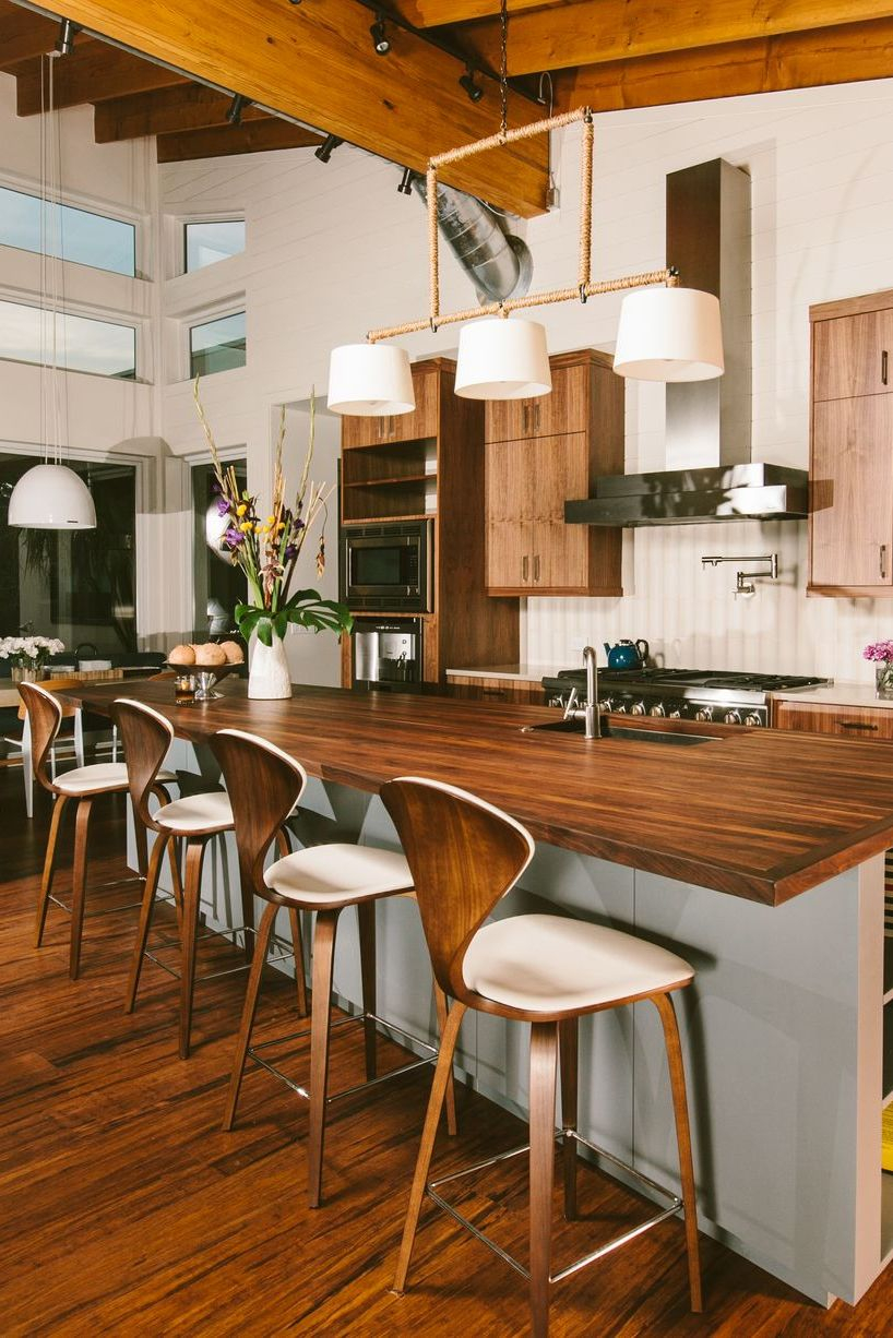 Rustic wood elements A New Way To Enjoy The Wood Kitchens That Is Definitely Charming