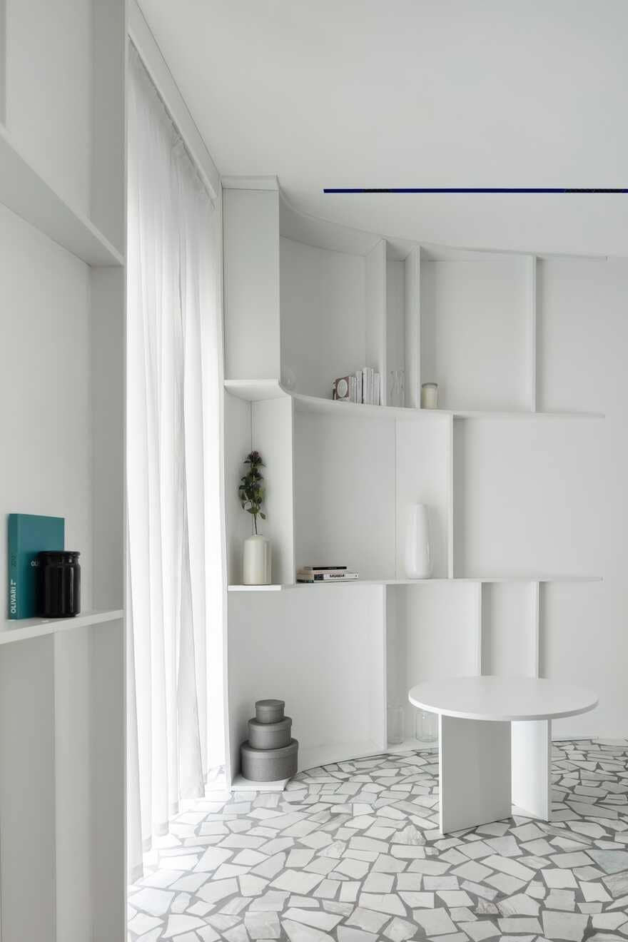 Interior design of a townhouse for a young family with two children 3