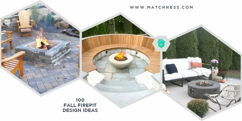100 fall firepit design ideas ft (1)