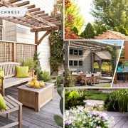 Beautiful summer pergolas and trellises for your garden fi