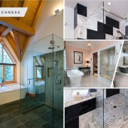 25 best elegant shower door and curtain you should try 5