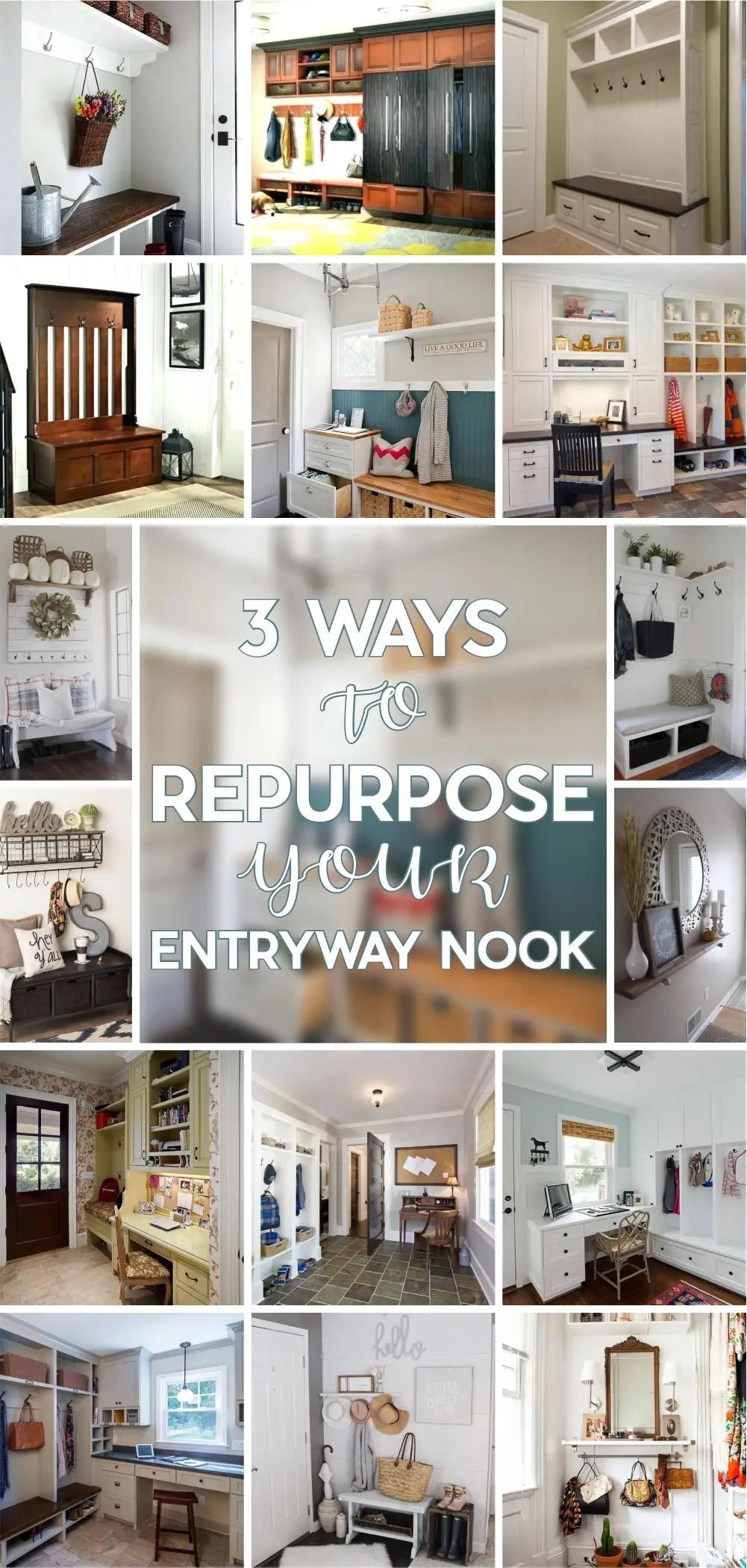 3 ways to repurpose your entryway nook 1