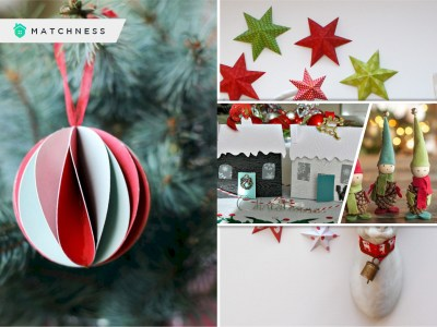 100 proper diy eco-friendly christmas decoration