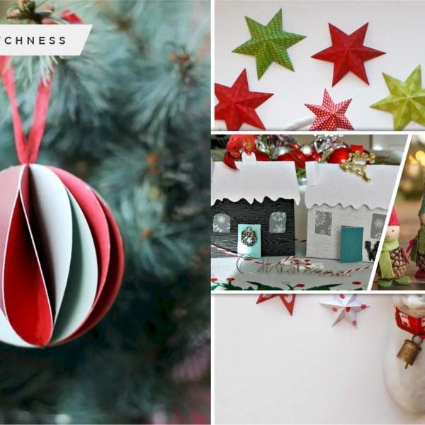 100 proper diy eco-friendly christmas decoration