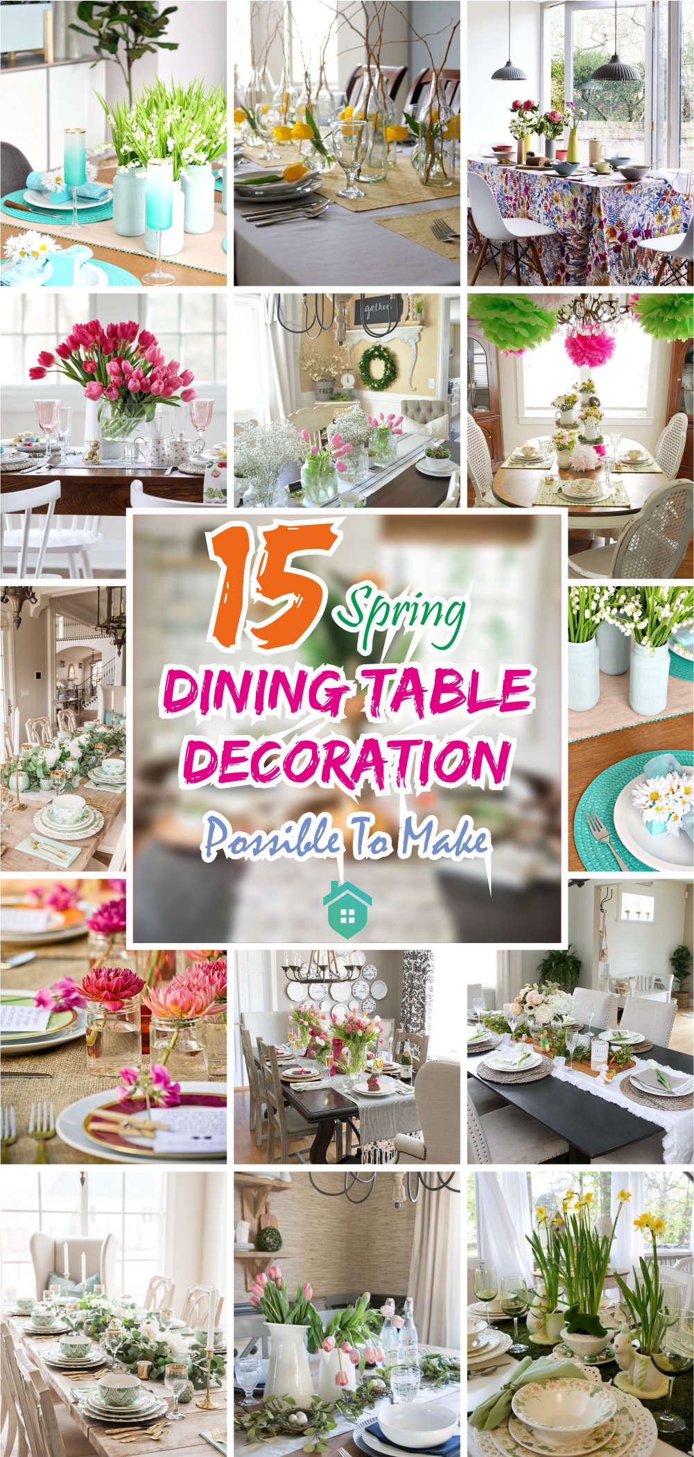 15 spring dining table decoration possible to make5