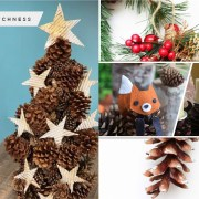 20 any craft ideas you can make by using pine cone