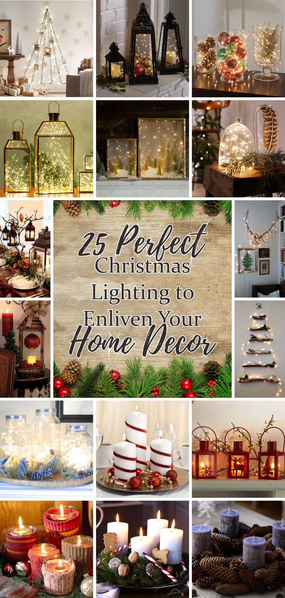 25 perfect christmas lighting to enliven your home decor 1