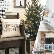 25 warm farmhouse winter home decoration fi