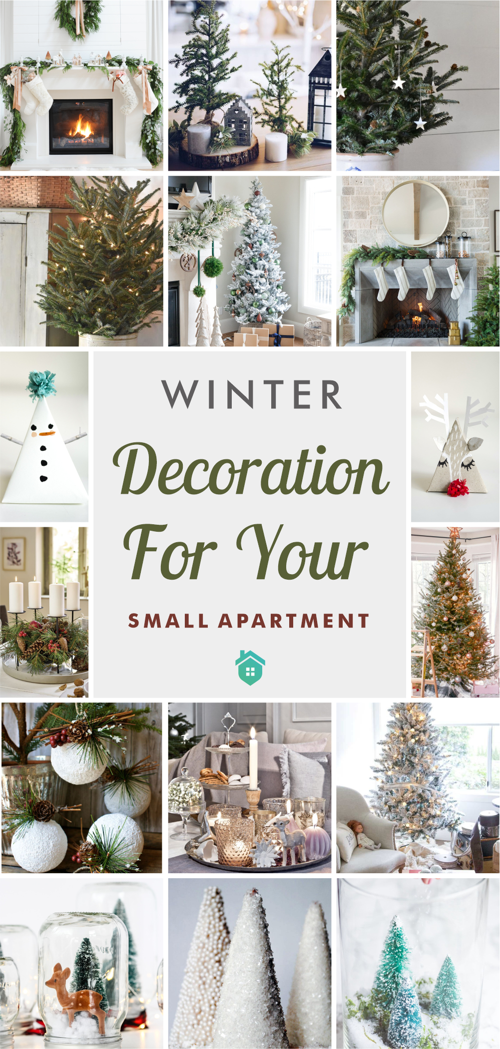30 winter decoration for your small apartment5